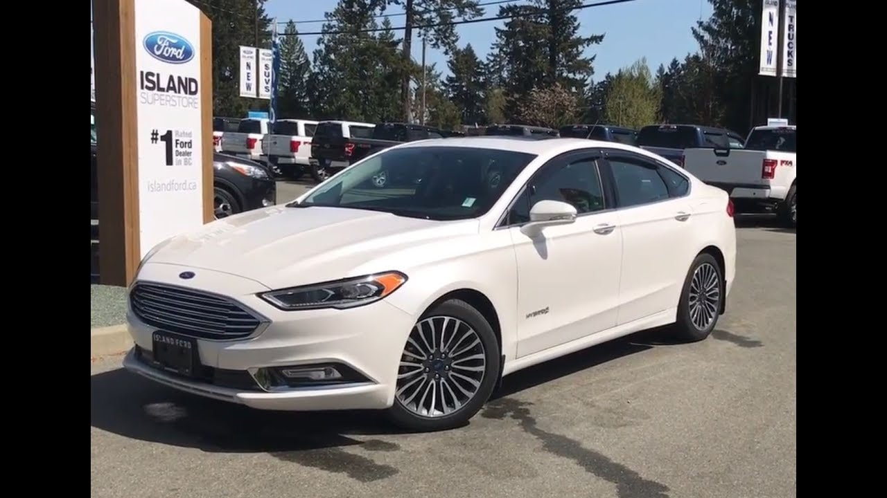 2018 Ford Fusion Hybrid Anium Review Island