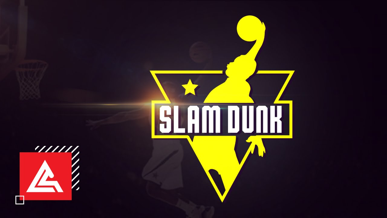 How to design a logo of basketball. slam dunk sports logo photoshop tutorial