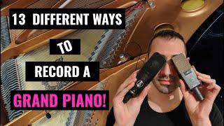 How to record a Grand Piano (Mono \u0026 Stereo Techniques)