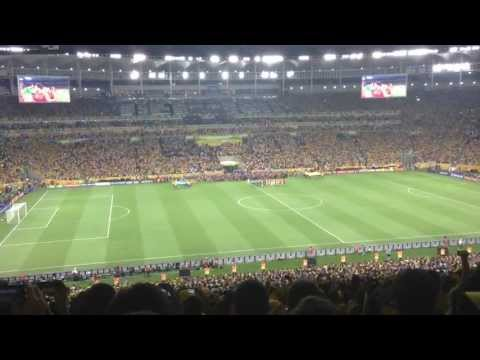Brazil Anthem at Maracanã Stadium - FIFA Confederations Cup 2013 Final (Brazil 3-0 Spain)