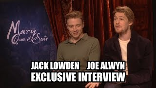 Jack Lowden and Joe Alwyn discuss MARY QUEEN OF SCOTS - Exclusive Interview