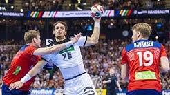 Handball Germany - Norway. IHF World Men's Championship 2019 Semifinal