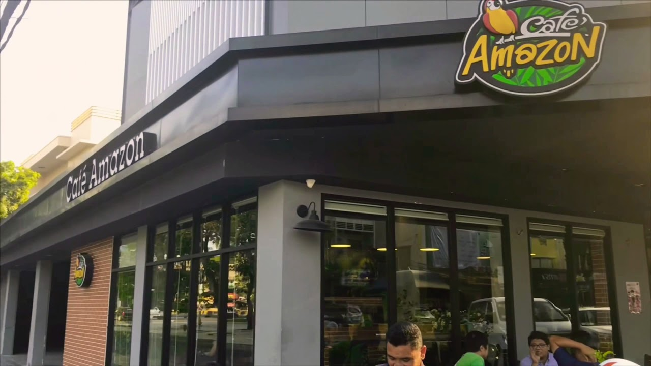 Cafe Amazon Head Office  Phnom Penh Cambodia - YouTube 6becbab502d81