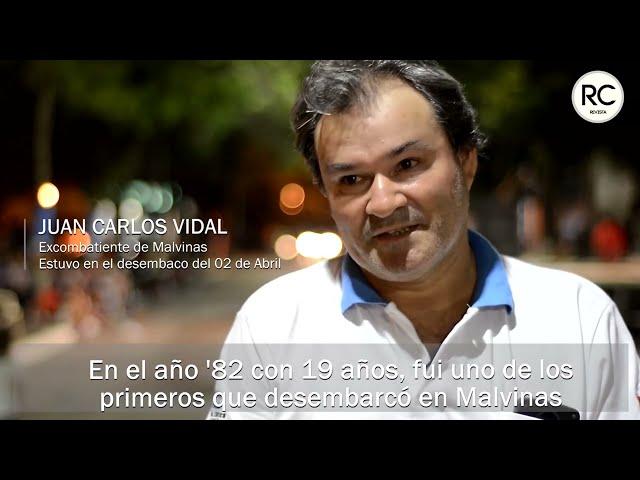 Juan Carlos Vidal: Memorias de un soldado