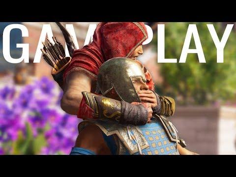 Assassin's Creed Odyssey - Leap of Faith, Shark Fight, & Mercenary Kill