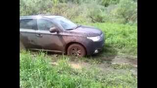 Mitsubishi Outlander mini off-road
