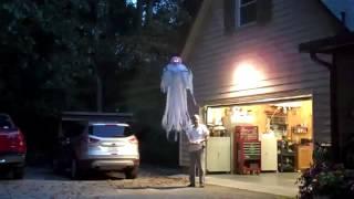 Сделал призрака при помощи квадрокоптера