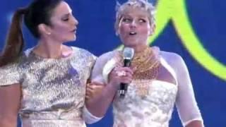 Xuxa Especial de Natal - Natal todo dia - Acelera aê - Ivete Sangalo (24.12.2010).