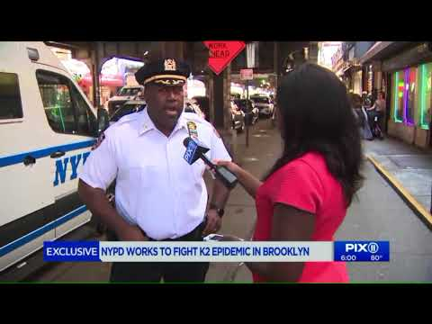 NYPD works to fight K2 epidemic in Brooklyn