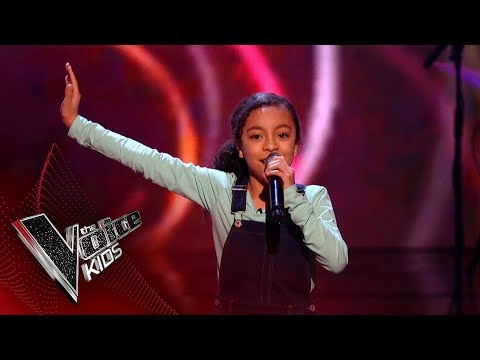 Savannah Performs 'Don't you Worry 'Bout A Thing': Blinds 4 | The Voice Kids UK 2018