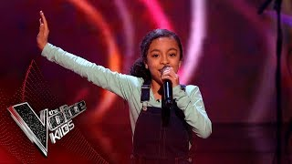 Savannah Performs Don T You Worry Bout A Thing Blinds 4 The Voice Kids UK 2018