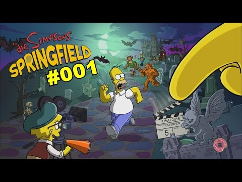 "Let's Play -- Die Simpsons ""Springfield"" -- German [Full-HD] -- #001 -- Homer war es!"