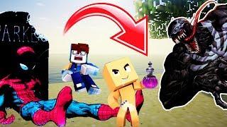 Minecraft: Who´s Your Hero #4 - O HOMEM ARANHA ROSA E SEU FILHO PERDERAM OS PODERES E QUASE MORRERAM