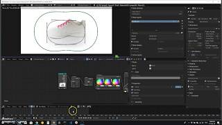 STEP 1: Import the 3D photo-360 sequence into BLENDER and specify the total number of frames