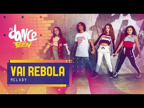 Vai Rebola - Melody  FitDance Teen Coreografía Dance