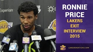 Lakers Exit Interviews 2015: Ronnie Price