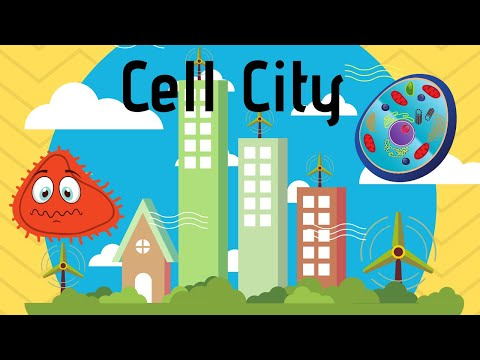 Cell Organelles-Mnemonic Devise-Cell City