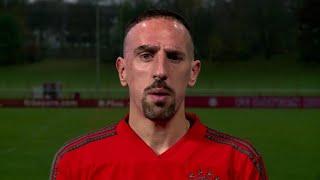 Videobotschaft: Ribéry entschuldigt sich bei TV-Reporter Guillou