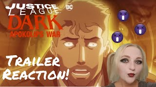 Kelseykins Reacts! Justice League Dark: Apokolips War Official Trailer