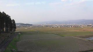 JR小浜線 東舞鶴~敦賀の車窓風景 JR Obama Line Higashimaizuru ~ Tsuruga train window landscape
