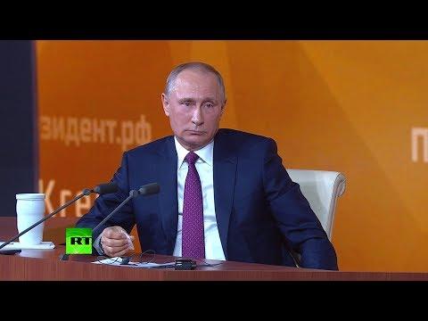 Путин польскому журналисту о причастности РФ к трагедии под Смоленском: Чушь какая-то!