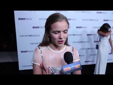Morgan Saylor Talks Homeland Season 3, Working with Claire Danes!