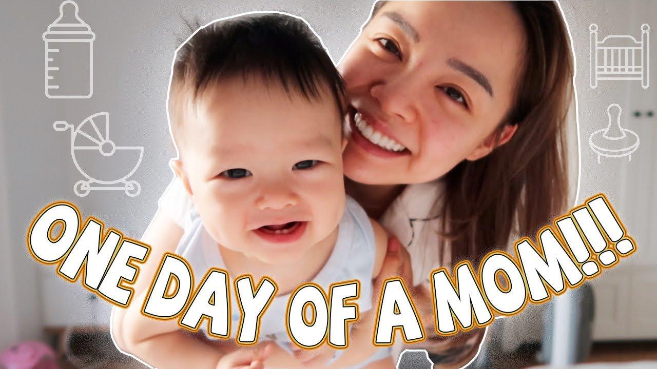 Một Ngày Của Mẹ Bỉm Sữa 🤱 A Day In My Life ❤️ TrinhPham