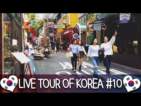 Exploring Itaewon 이태원 구경하기 - 🇰🇷 LIVE TOUR OF KOREA #10