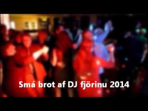 DJ Ómar - ferðadiskó (mobile disco in Iceland - few clips 2014)