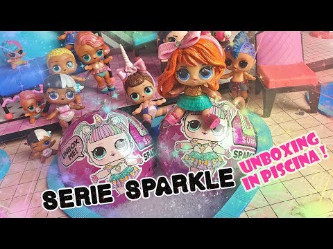 SERIE SPARKLE ✨ Nuove LOL Surprise 💖 Candy è super felice! [Unboxing]