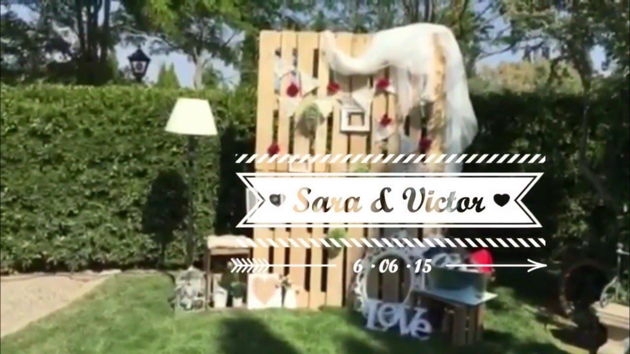 Decoracion de eventos boda vintage rustica sara victor - Decoracion boda vintage ...
