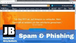 So erkennt Ihr Spam & Phishing-E-Mails – einfach erklärt - wie kann ich mich Schützen?