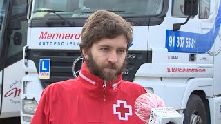 CNAE pone a disposición de Cruz Roja vehículos para atender a personas vulnerables