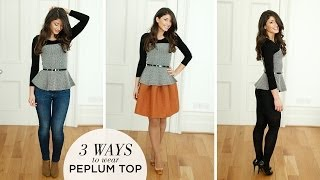 Peplum Top - 3 Ways Thumbnail