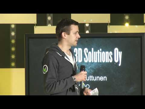 Versoteq 3D Solutions Oy at Slush 100 Pitching Competition