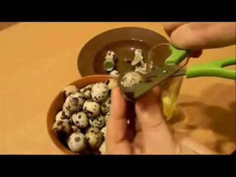 Яичница из перепелиных яиц со
