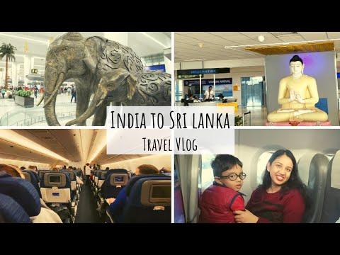 India to Colombo|New Delhi Airport|Sri Lanka Travel Vlog|Arpita's Space