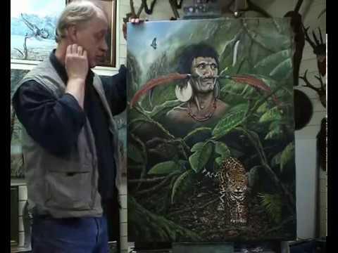 Nico Bulder, a wildlife painter