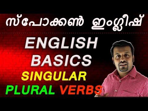 spoken english in malayalam- Part-2 -Basics-പാഠം 2