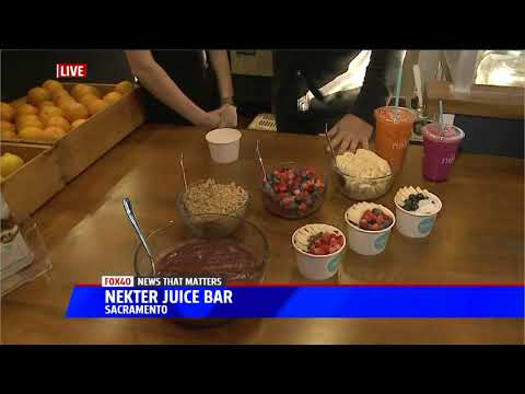Gary Checks Out New Juice Bar - YouTube