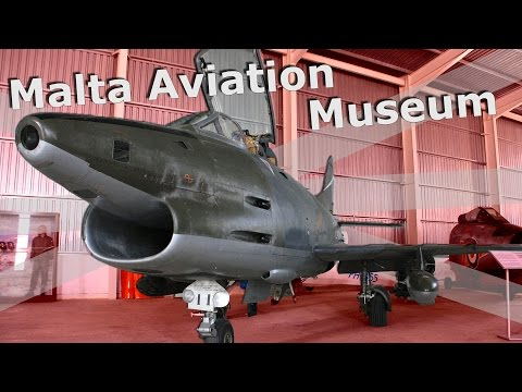⚜ | Malta Aviation Museum - Spitfire, Gloster Meteor, Swordfish (!) and More
