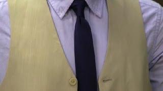 Wearing a Suit Vest Without a Suit : Men