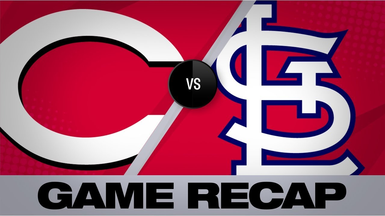 Carpenter caps Cardinals' rally, walk-off | Reds-Cardinals Game Highlights 8/31/19