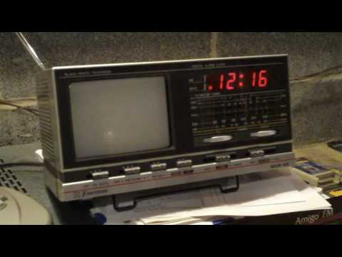 1984 Emerson clock TV/radio