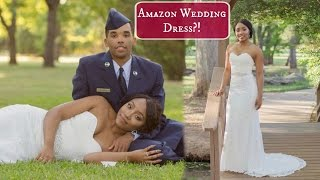 Wedding Dress from Amazon?!?! | Bride on a Budget