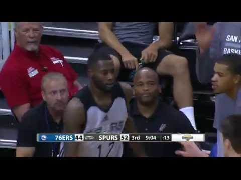 Jonathon Simmons Scores Utah SL Record 35 Points for the Spurs