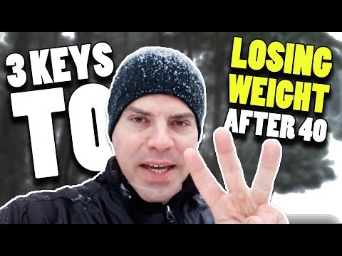 3 Keys To Losing Weight After 40