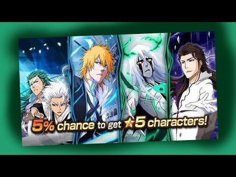 Bleach Brave Souls: Summons Battle Swords 5%!!! e aí vai tentar!!! - Omega Play