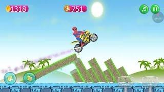 Spiderman Moto Racing 2 # Dirt Bike Racing Games - Dirt Motorcycle Games 4 Kids Boys - Bike Games