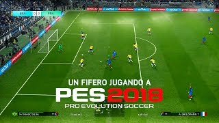 UN FIFERO JUGANDO A PES 2018